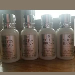 MOLTON BROWN Other - 4 MOLTON BROWN COCO & SANDALWOOD LOTION 30ml EACH